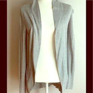 Gorgeous (a new day) gray long cardigan